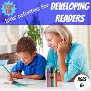 Kids Learning Activites for Developing Readers