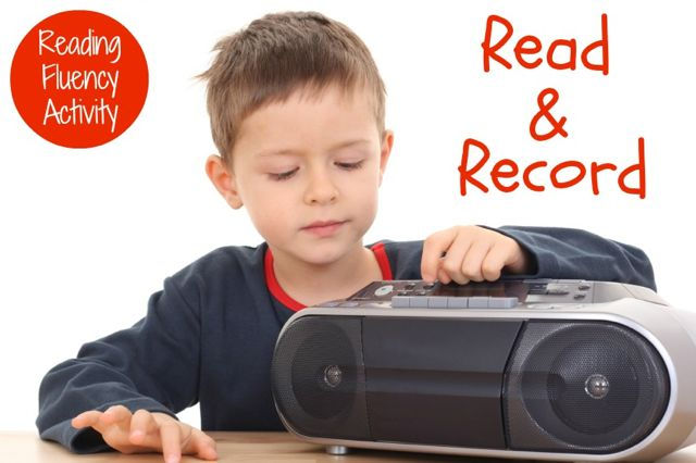 reading fluency activity