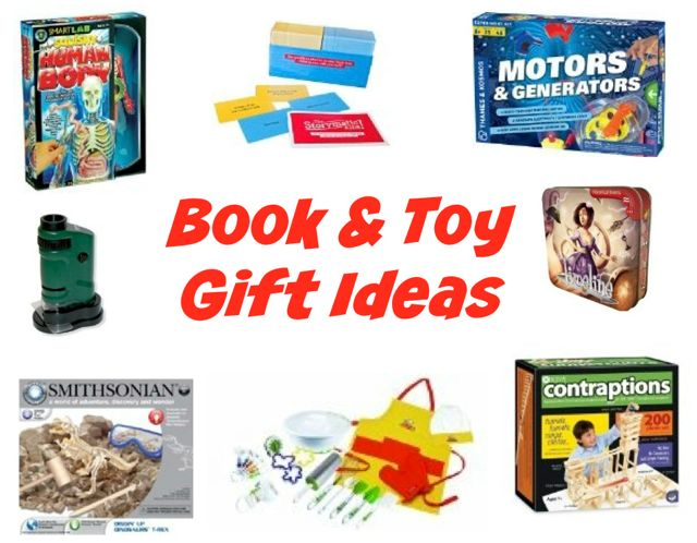 Book and Toy Gift Ideas