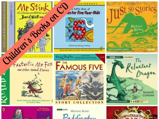 Childrens books on CD