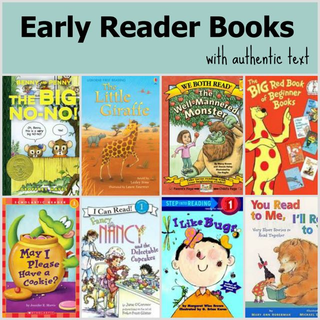 Early Reader Books with Authentic Text