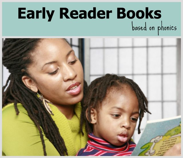 Early Reader Books based on Phonics