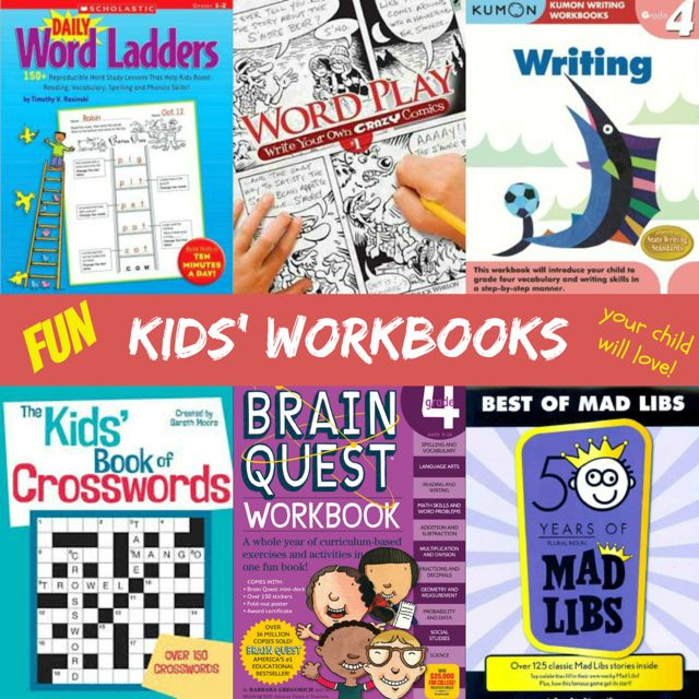Kids Workbooks