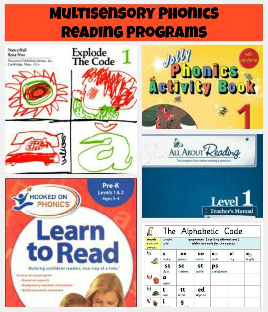 Multisensory Phonics Reading Program Reviews