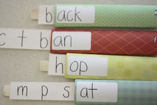 Word Family Pull-Out Activity