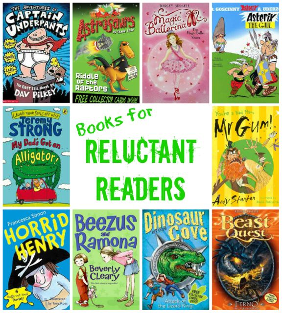 Choosing Books For Reluctant Readers