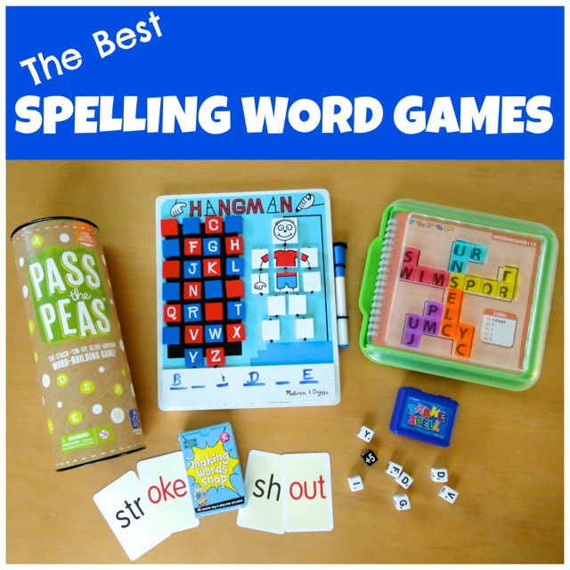 Spelling Word Games