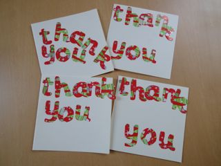 christmas thank you letters step 5