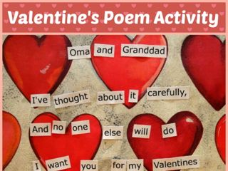 Valentine's Poem Activity