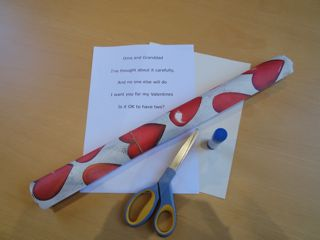 valentines poem activity step 1