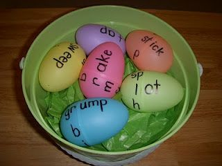 Word Family Eggs