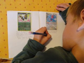 Pokemon writing activities 1