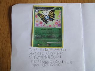 Pokemon writing activities 3