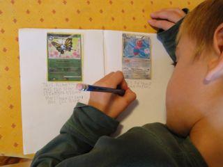 Pokemon writing activities 1